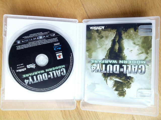 Juego Call of Dutty 4 PS3