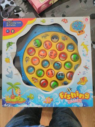 varios juegos Juego de pesca y Puzzles