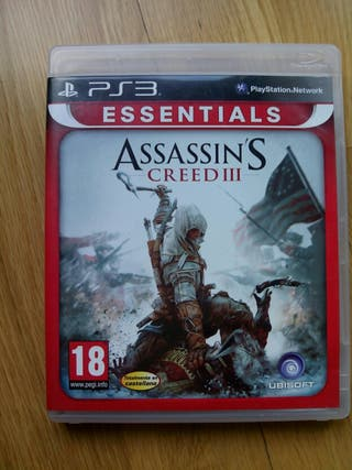 Juego ps3 Assasin's Creed III