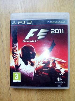 Juego ps3 F1 2011