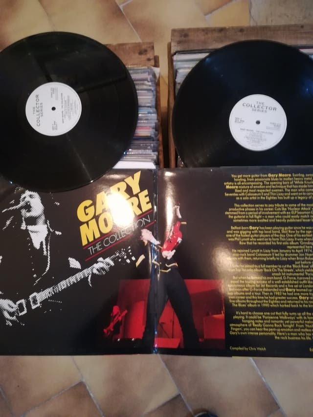 2Lp's Gary Moore - The collection (Near Mint)