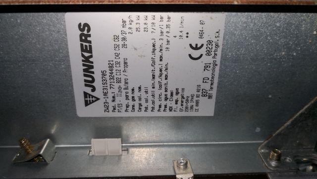 Caldera calefacción Junkers