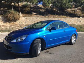 Peugeot 307 Azul metalizado CC 2.0 - 134 CV