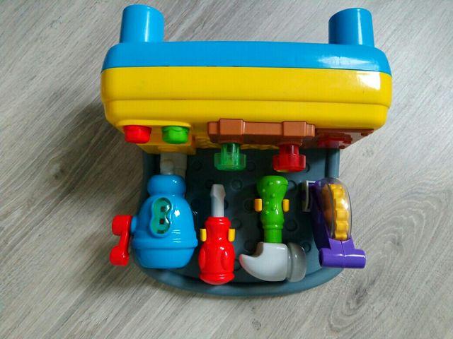 juguete banco herramientas