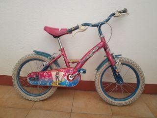 bici niña 16 pulgadas