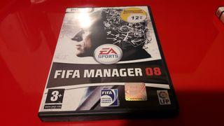 juego de pc fifa manager 2008