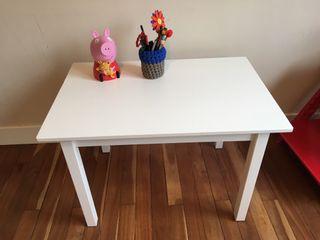 Mesa para niños Blanca