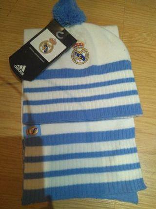 Gorro y bufanda Real Madrid