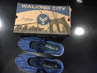 Zapatos Yulma comfort azul señora nuevos T40