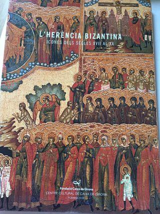 Libro catálogo de Iconos Herencia Bizantina