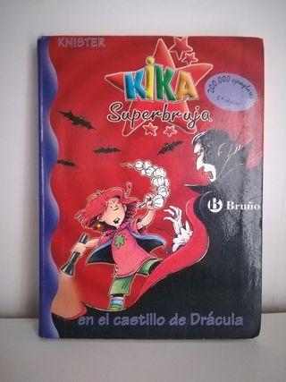 Libro infantil. Pack KIKA SUPERBRUJA