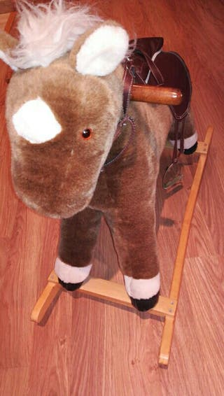 caballo y elefante balancin