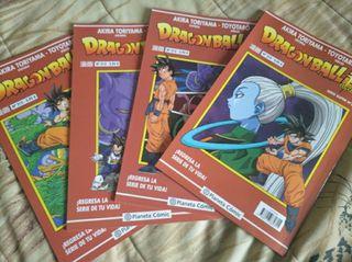 Dragon Ball Super Serie Roja 1-4