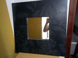 Espejo pintado artesanal