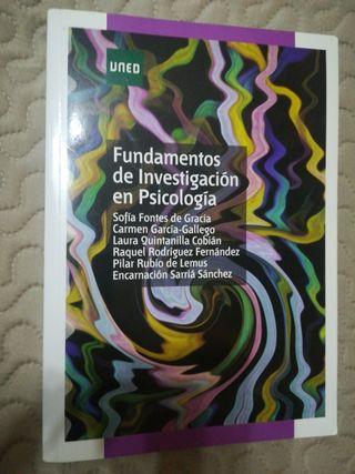 libro Fundamentos de investigación psicología