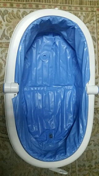 bañera plegable ideal para viajes