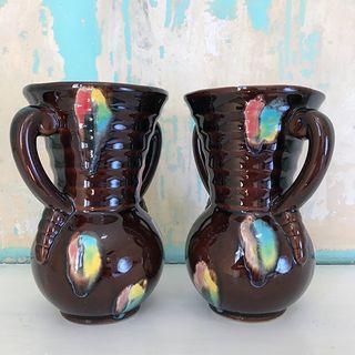 2 vases céramique