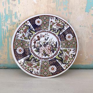 Assiette porcelaine chinoise