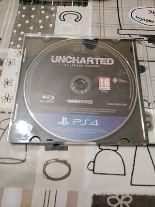 Juego ps4 uncharted el legado perdido