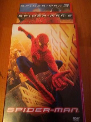 Spiderman 1, 2 y 3