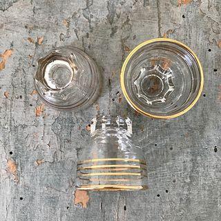 8 verres liqueur 4x4 cm