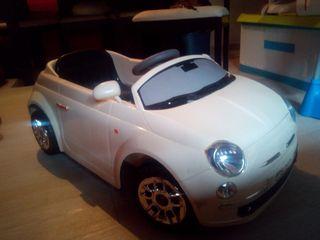 coche eléctrico y teledirigido