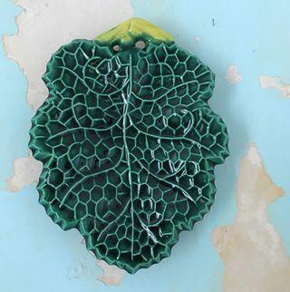 Ramequin Feuille de vigne 20x15 cm