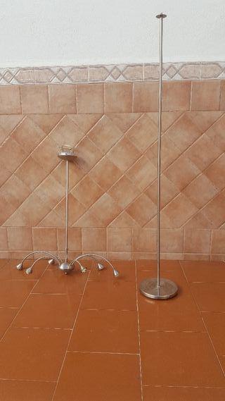 Lámpara techo y pie de lampara