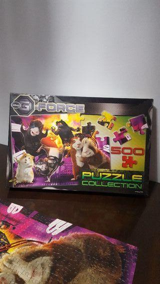 puzzle g-force 500 piezas