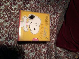Libros de Snoopy en inglés traídos de Inglaterra