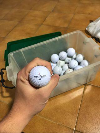 19 bolas de golf Top Flite
