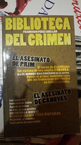biblioteca del crimen