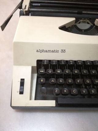 naquina de escribir