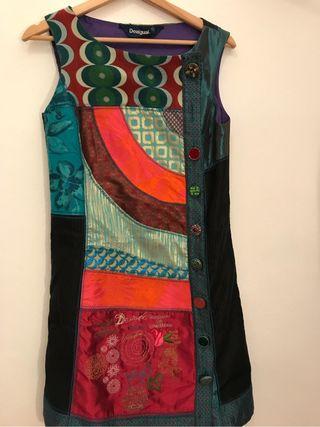 Vestido colorido Desigual
