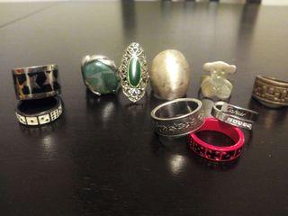Anillos y anillo pulsera