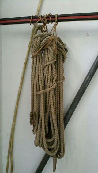 cuerda para amarre de embarcaciones