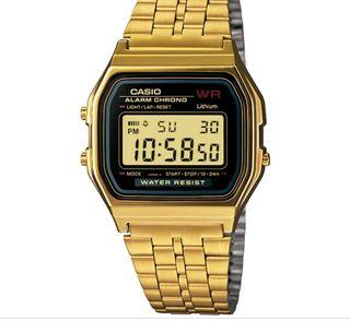 b7ff57e2fa3 Reloj Casio dorado de segunda mano en WALLAPOP
