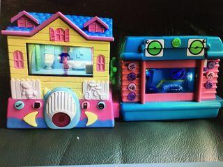 2 casas de juguete pixel chips