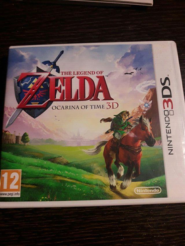 Juego Zelda 3ds The Legend Of Zelda Nintendo 3ds De Segunda Mano