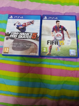 dos juegos de play4
