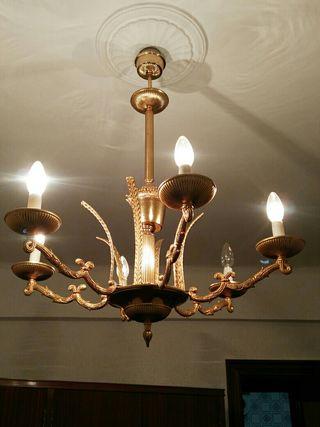 Lámpara habitación vintage