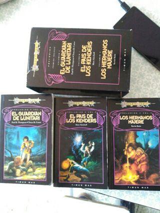 Trilogía de libros de dragón Lancer
