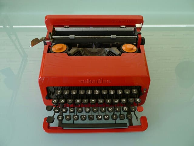 Máquina escribir Olivetti Valentine