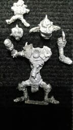 Blood Bowl Troll Orcos Goblins metal willy