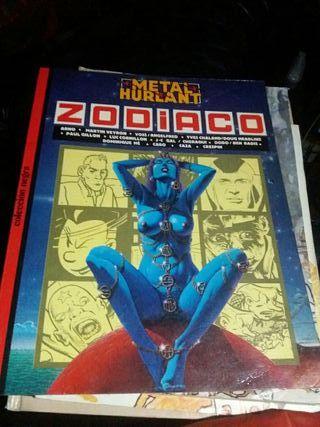Comic Zodiaco,Metal Hurlant.