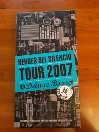 caja heroes del silencio tour 2007 deluxe boxet