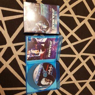 Blu-Ray Trilogia Original Stars Wars (4,5y6)