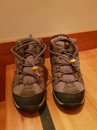 botas de niño goretex