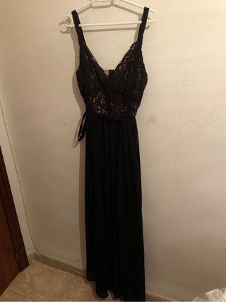 Vestido de fiesta negro