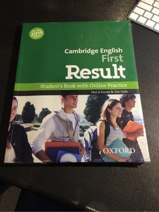 Libro cambridge first